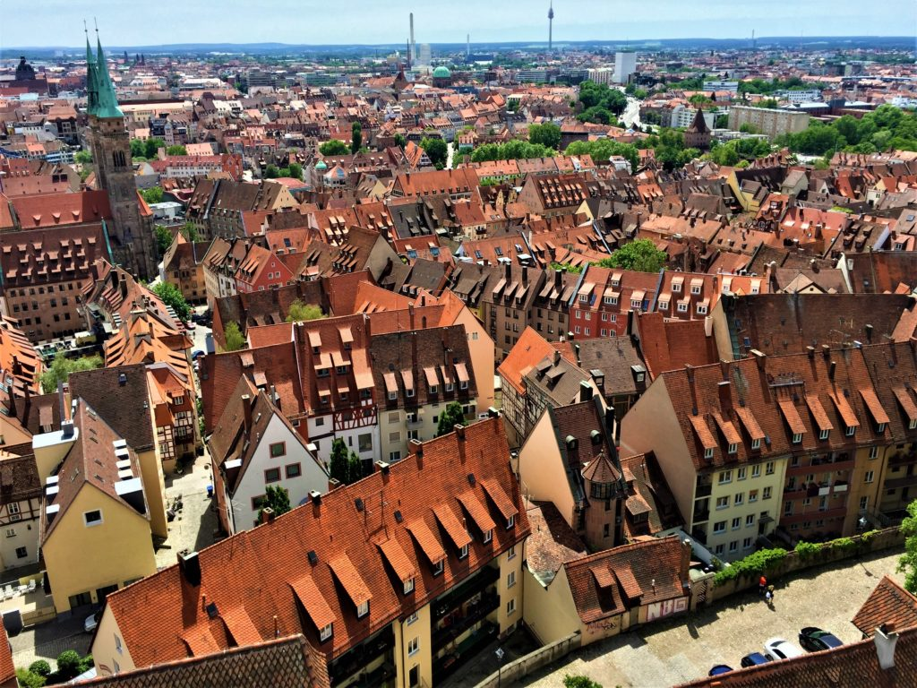 Kaiserburgからの眺望